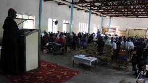 Bishop Mtumbuka Opens the 2017 Catholic Teacher's Conference