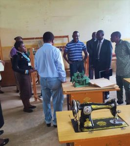 Minister of Labour Tours Miracle Technical Institute