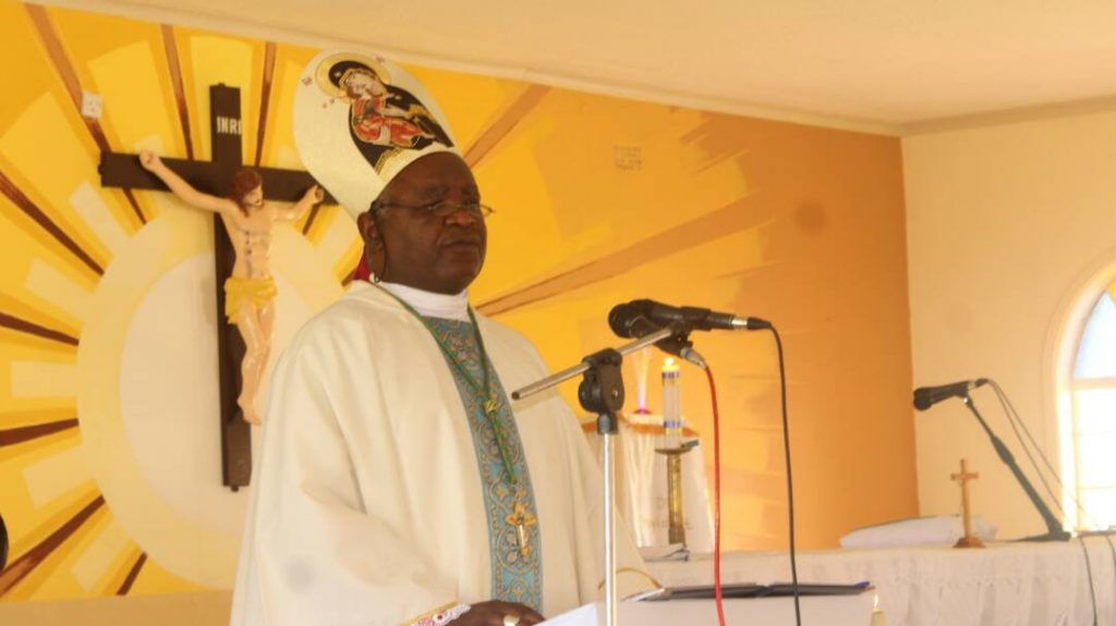 """Picture of Bishop Mtumbuka Calls on Christians to Be """"Brother's Keepers"""""""