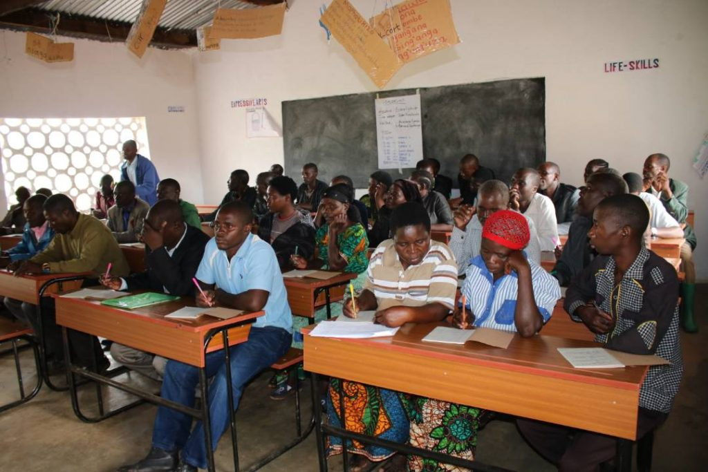 Picture of Some of the parents who took part in the training