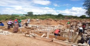 Construction of Karonga Diocese Curia Offices Underway