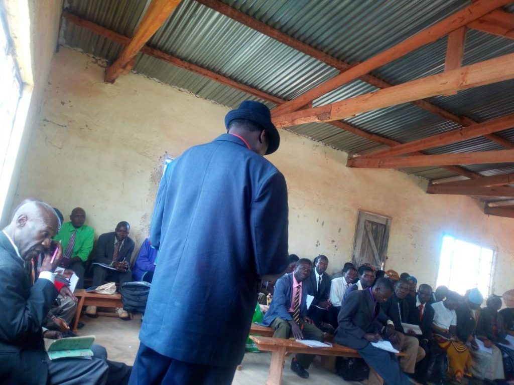 Traditional leader praises CCJP during ADC Meeting
