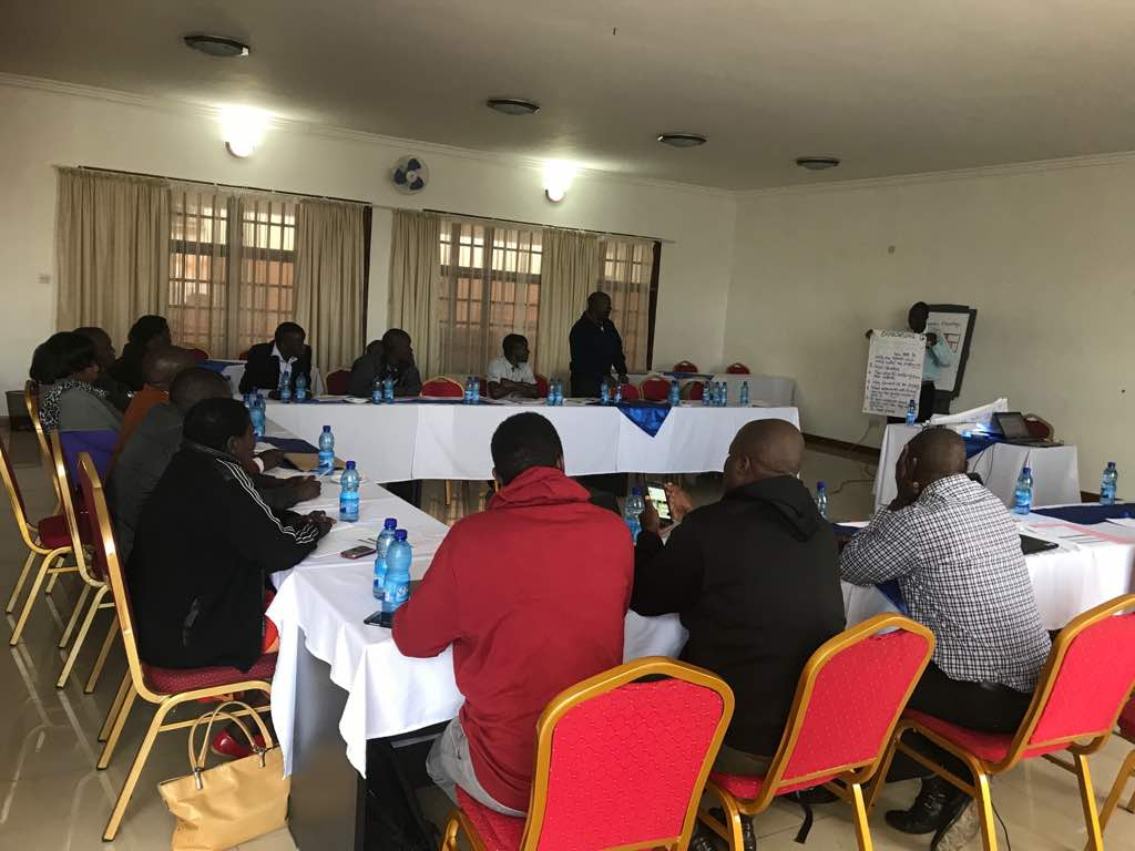 Primary Justice Project Managing Agency Trains District Implementing Agencies