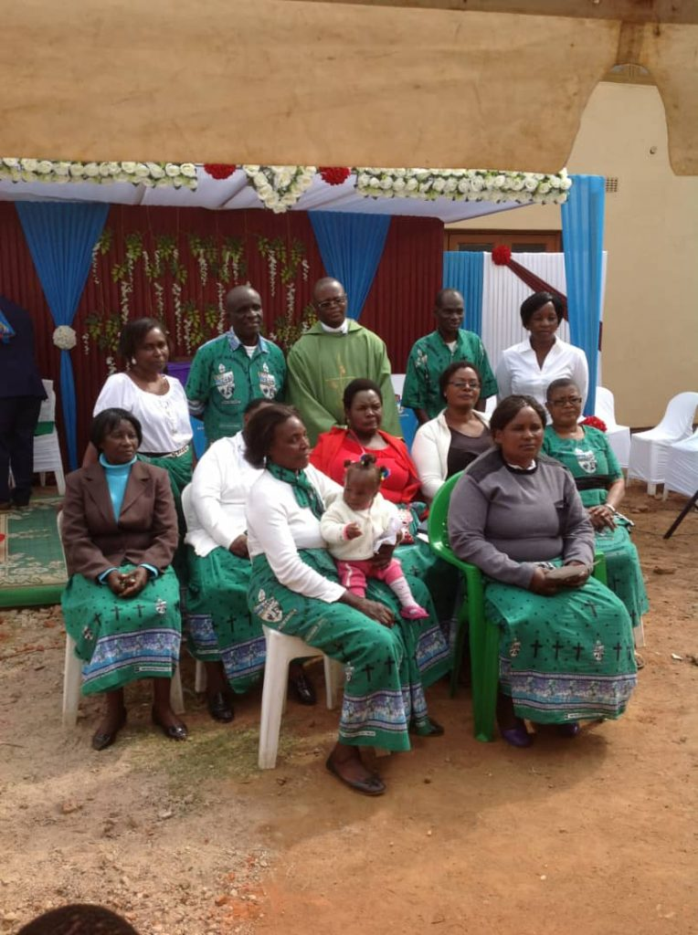 Some of the members of Karonga Diocese Affiliates Blantyre Chapter