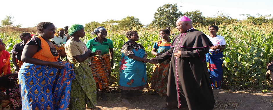 Bishop Mtumbuka Commends Lusubilo's Efforts to Transform Lives
