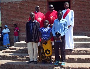 Monsignor Denis Chitete Confirms First Adult Christians from Chakaka, Livingstonia Parish