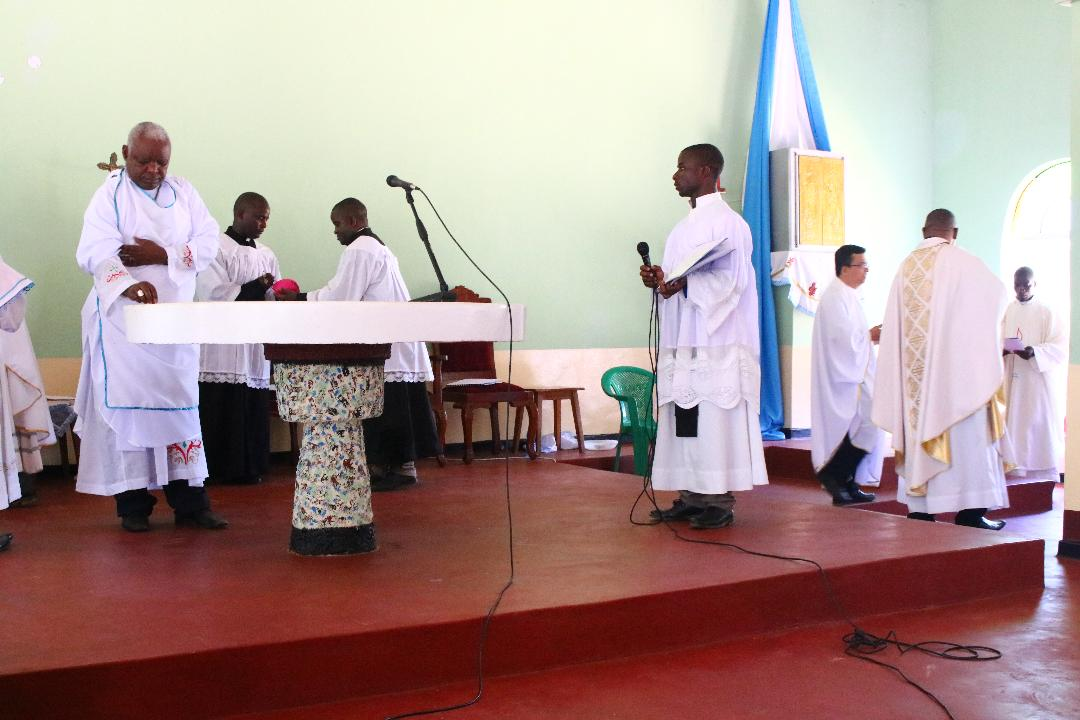 Bishop Mtumbuka Blesses Newly Constructed St. Mary's Parish Church