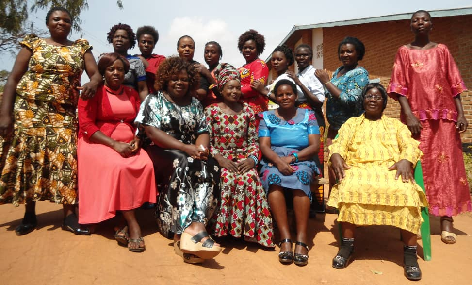Female aspirants who were part of the workshop