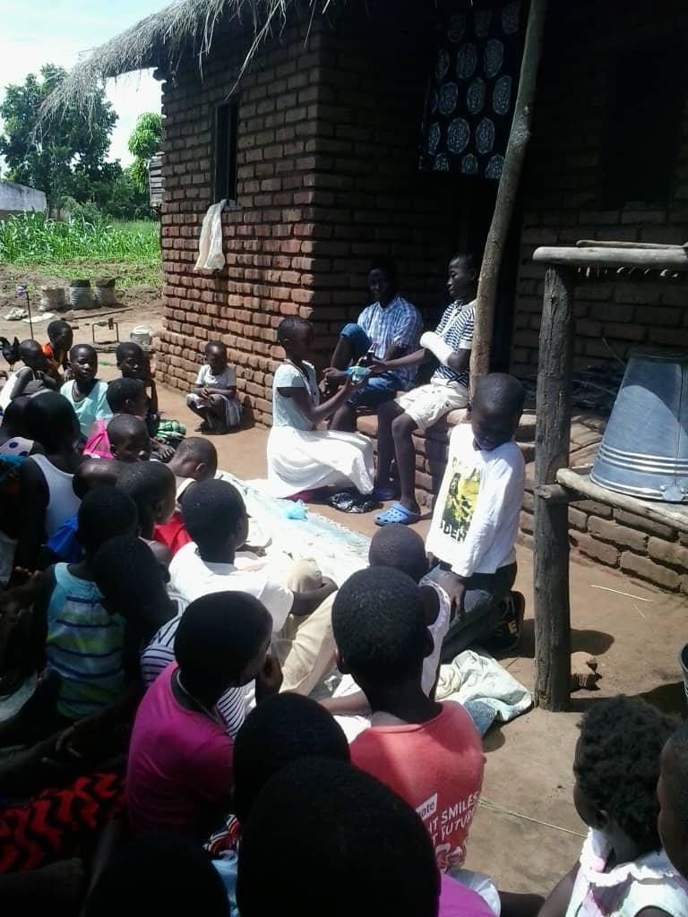 St Anne's Parish Junior Sunday School Children Cheer the Sick As a Way of Living the Gospel Values