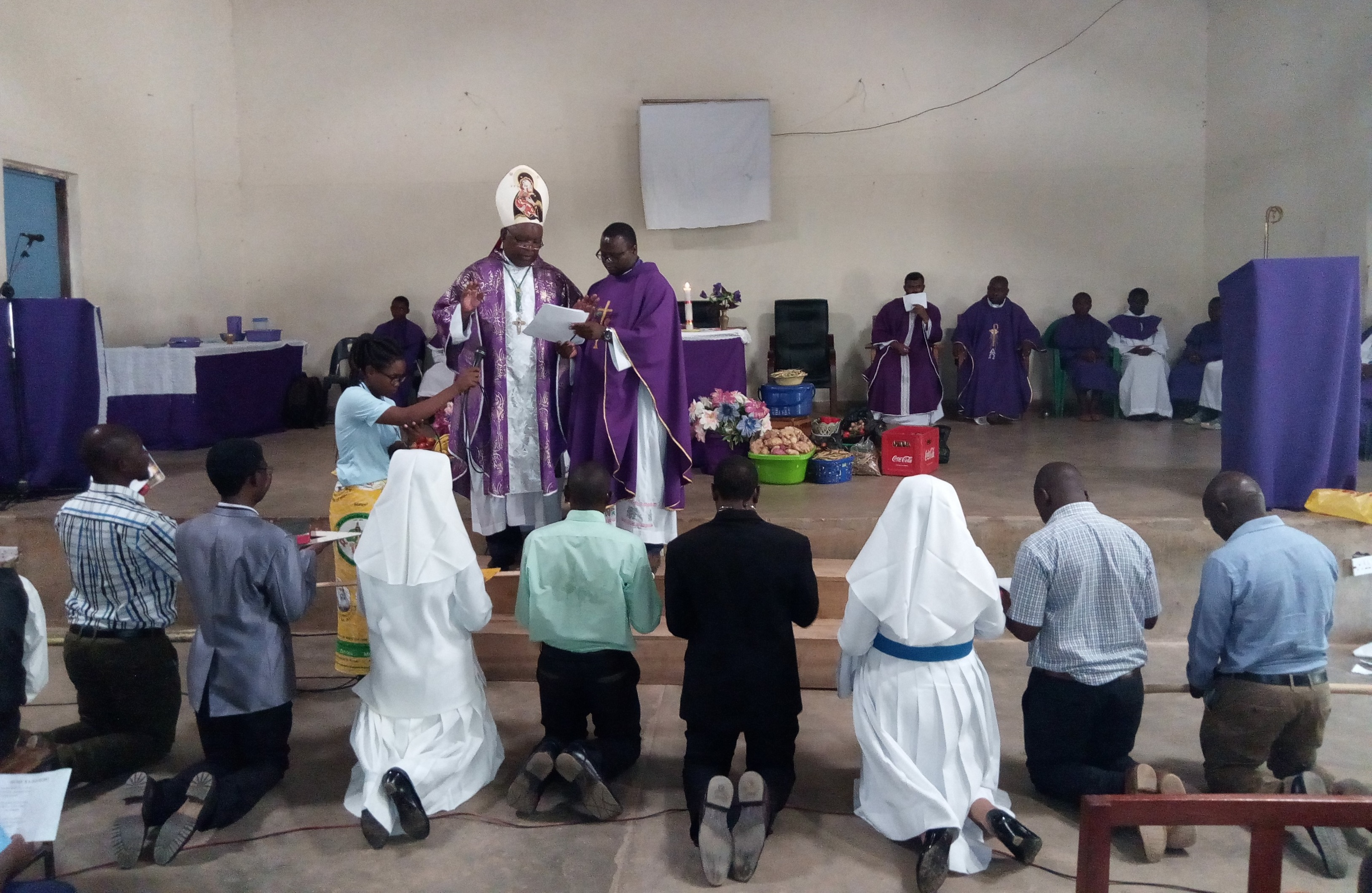 Caritas Commission Commissioned for Missio Ad Gentes