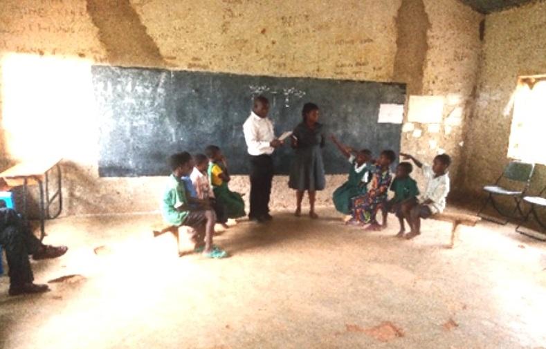Education Desk Monitors English Speaking Project at Mubanga