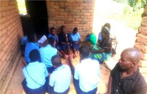 Kaseye Girls Reach out to the Elderly as Part of Lenten Observance