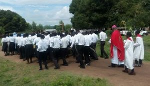 g4 Bishop Mtumbuka Celebrates Palm Sunday at Hangalawe Outstation