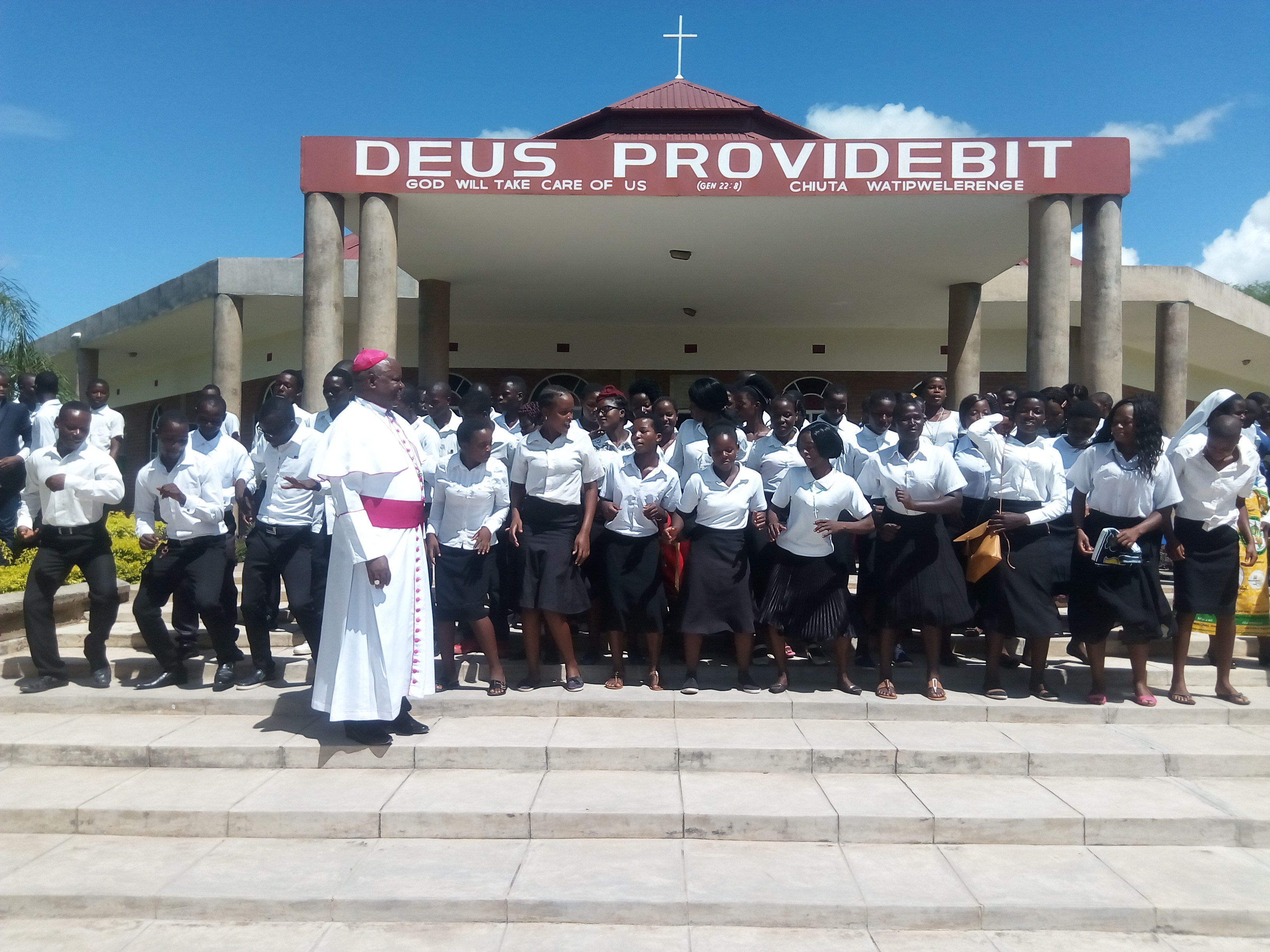Bishop Mtumbuka Establishes Youth to Youth Dancing Missionaries