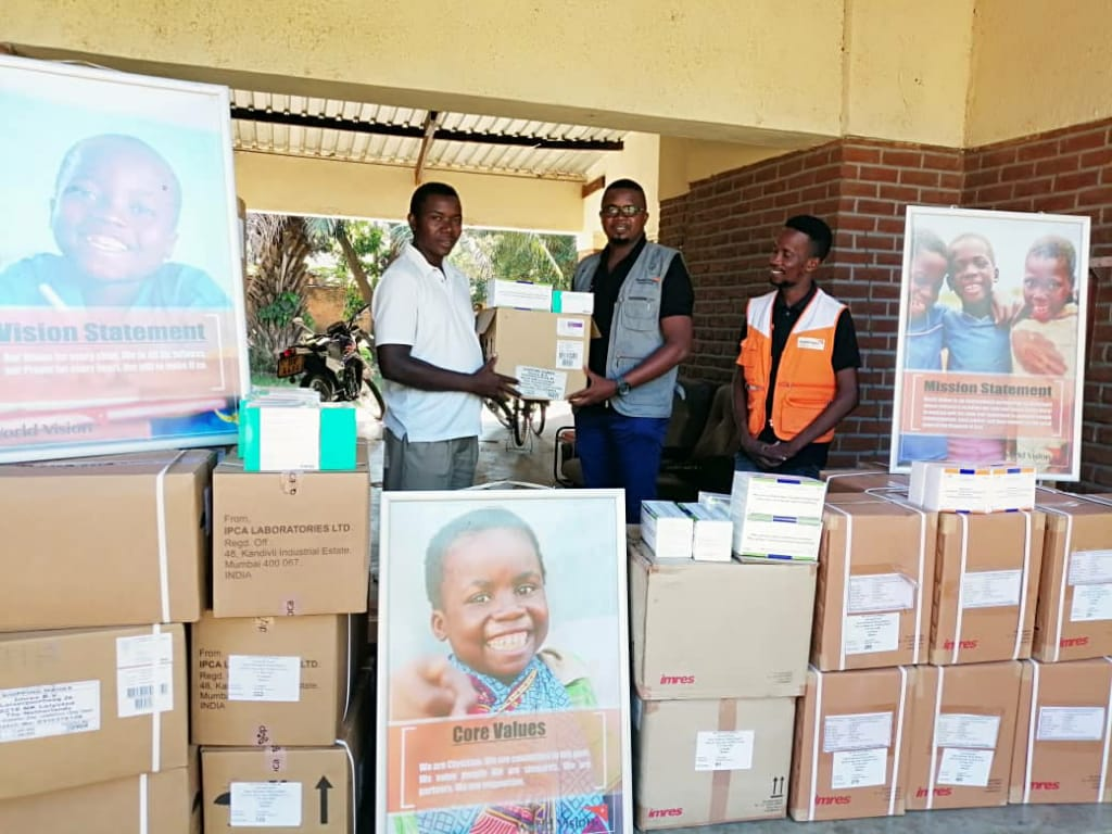 World Vision International Donates Assorted Drugs To Karonga Diocese Health Desk
