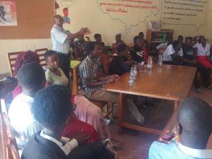 Karonga Youth Call on Justice and Peace to Continue with 50-50 Campaign