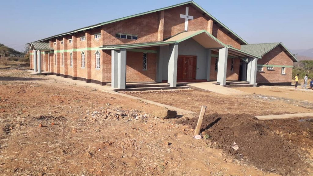 Front view of the newly consecrated Church