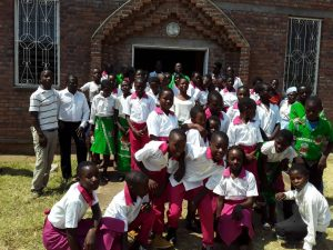 Junior Sunday School Children In Exchange Visit