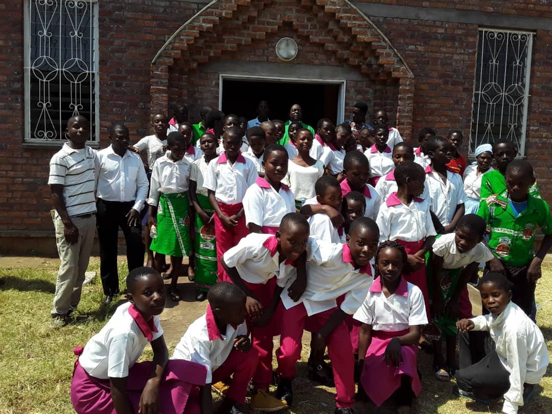 Junior Sunday School Children In Exchange Visit
