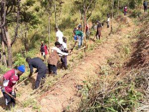Karonga Diocese Seminarians Work at Chipunga Farm