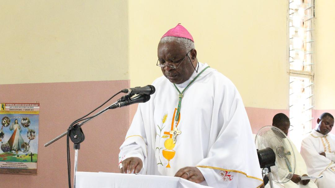 Bishop Mtumbuka Catechises on the Lord's Prayer