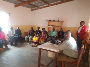 The Vicar General Monitors Diocesan Projects in Chitipa