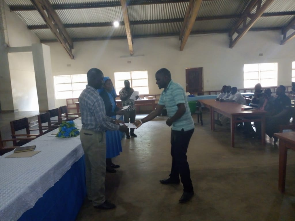 Kaseye Girls Secondary School Honours Teachers and Support Staff
