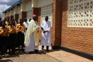 Bishop Mtumbuka Dedicates St Pius Catholic Church