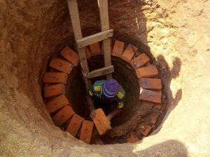 Communities in Chisankhwa Take Initiative to Construct Colbelt Pit Latrines for the Elderly
