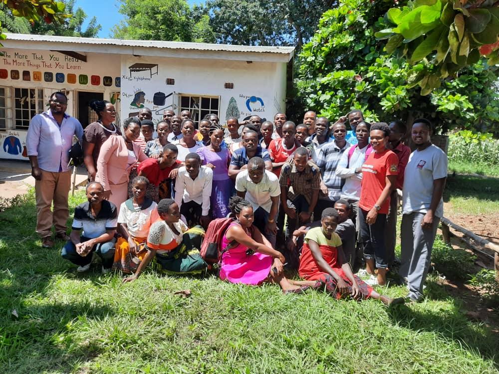Group of workshop participants and facilitators