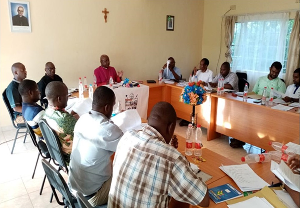 Awareness meeting with priests