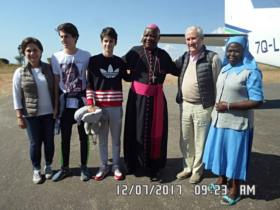 The Coppel Family Concludes their Visit to Karonga Diocese; Pledges Unwavering Commitment to Supporting the Diocese