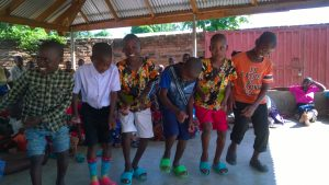 Lusubilo Orphan Care Centre Gives Children a Rare Christmas Treat