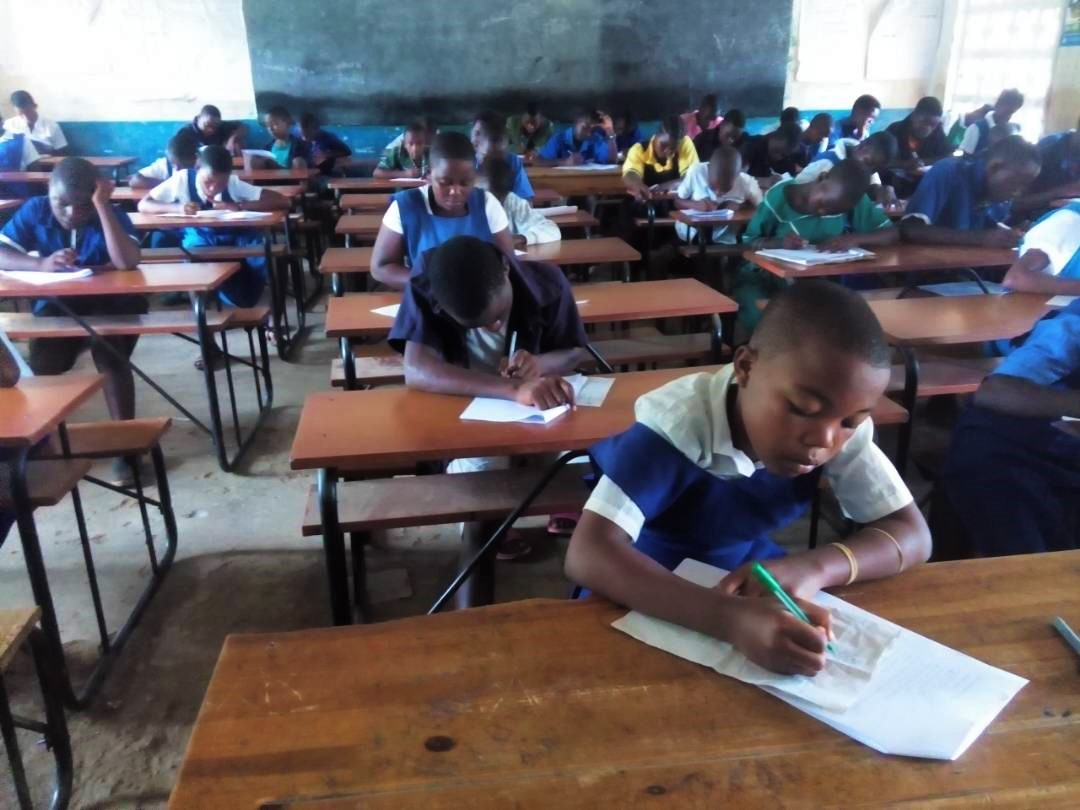 Education Desk Administers Catholic National Secondary School Entrance Examinations