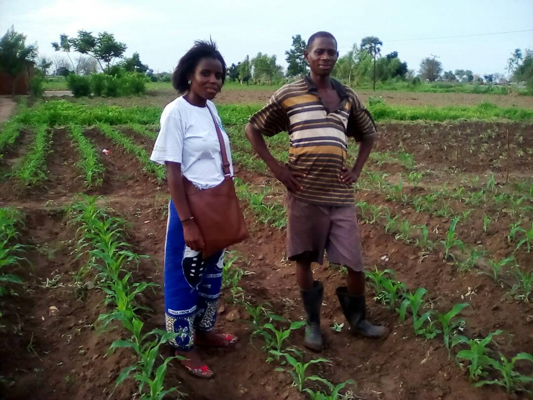The Development Desk Increases Awareness among Small Scale Farmers in Integrated Pest Management (IPM)