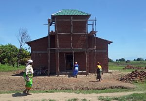 Picture of Some of the elderly who will benefit from the church built nearer to them; We Shall Go To Them.