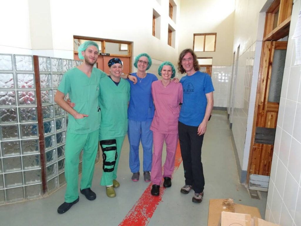 Picture of Interplast Team at Chitipa District Hospital