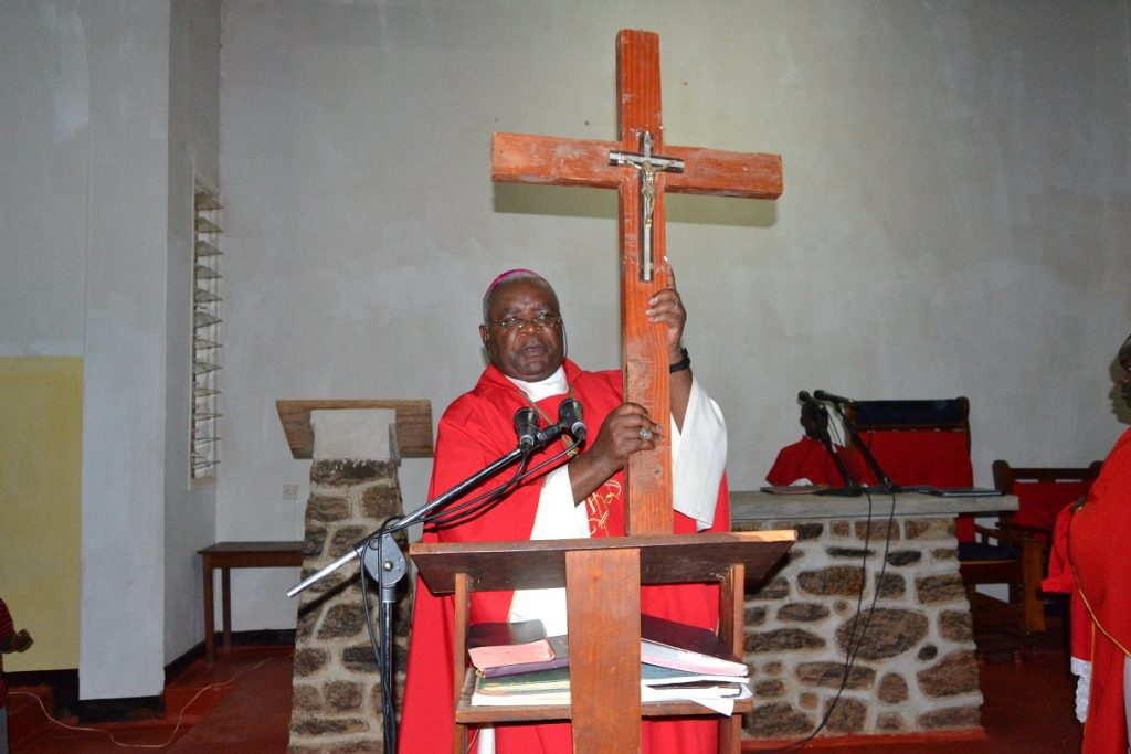 """Picture of """"Jesus Paid a Heavy Price for Our Salvation"""" Bishop Mtumbuka"""