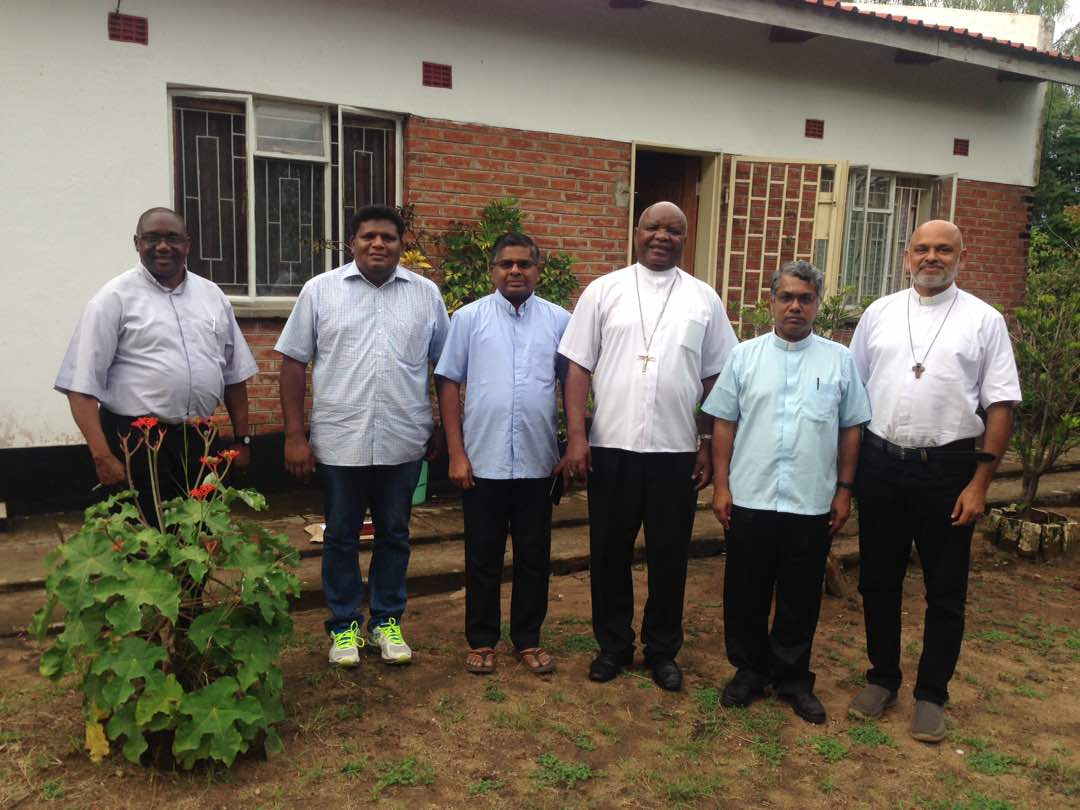 Missionaries of St. Francis De Sales from India Visit Karonga Diocese