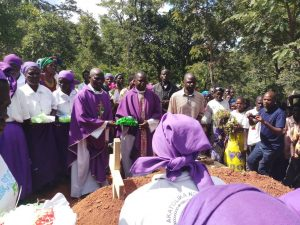 Picture of Priests laying their wreath