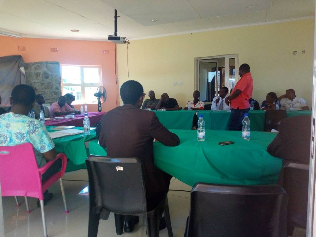 Picture of Panel discussion in Karonga