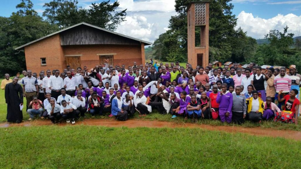 Picture of Group of Young Christian Students with their facilitators
