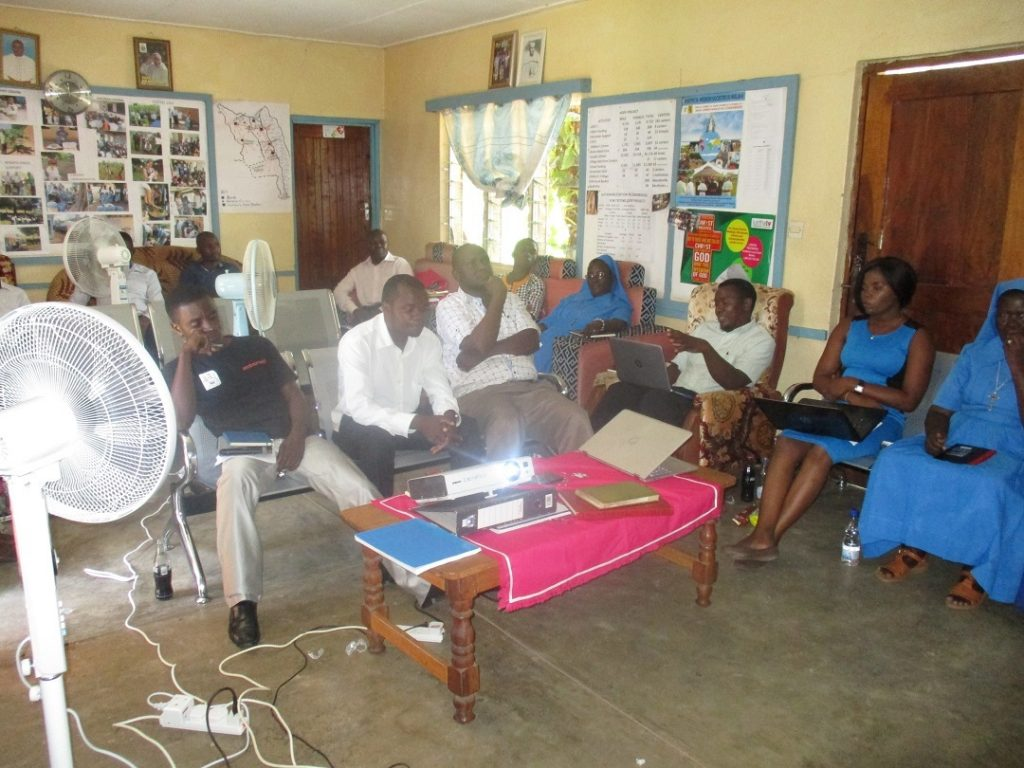 Picture of Some of the participants captured during the meeting