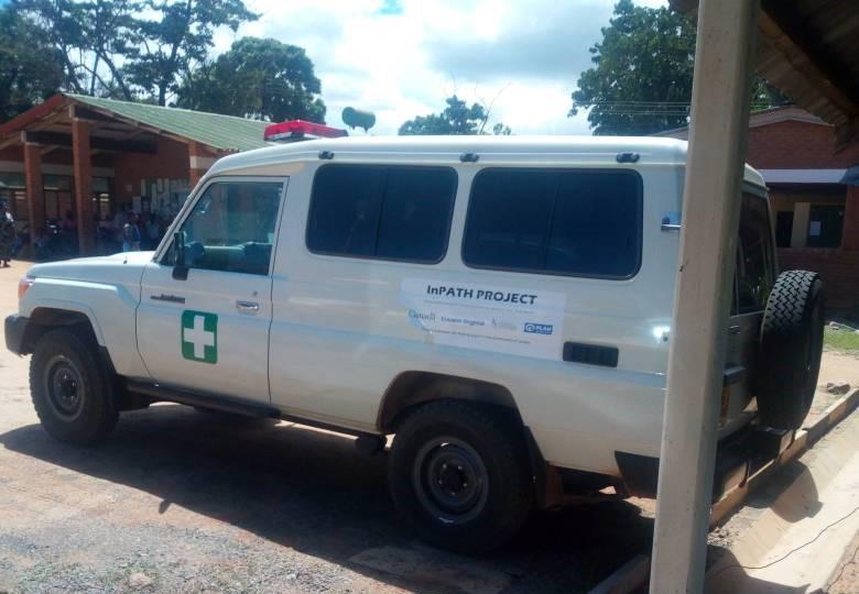 Misuku Health Centre has a new ambulance