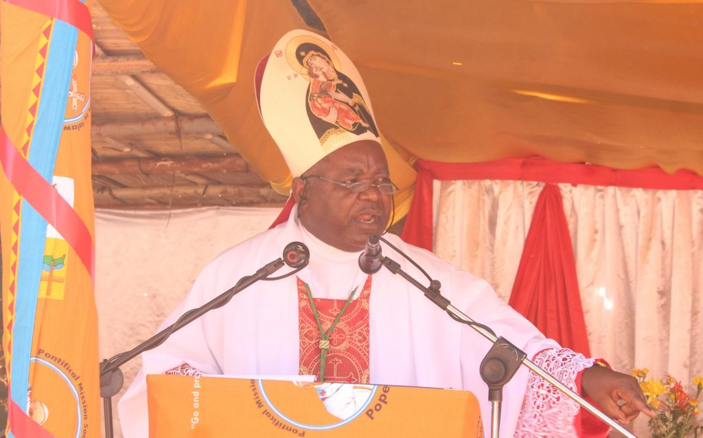 """""""Unity is a sign of the reign of the Holy Spirit,"""" Bishop Mtumbuka"""
