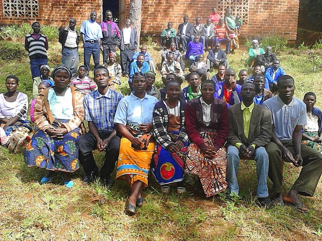Sunday school instructors from Menge Zone