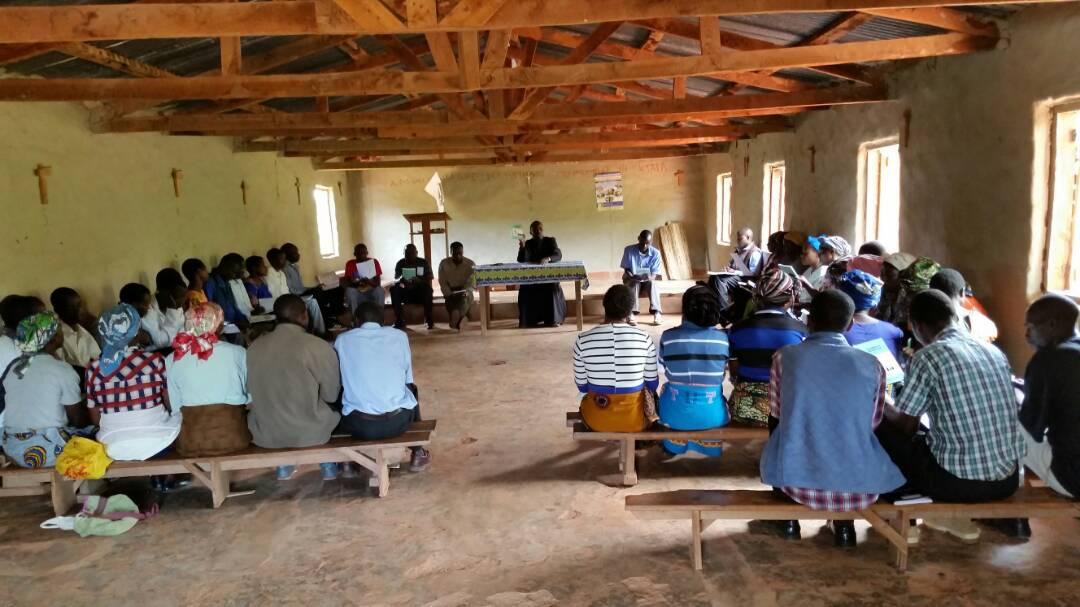 St Mathias (Misuku) Parish Trains Sunday School Instructors