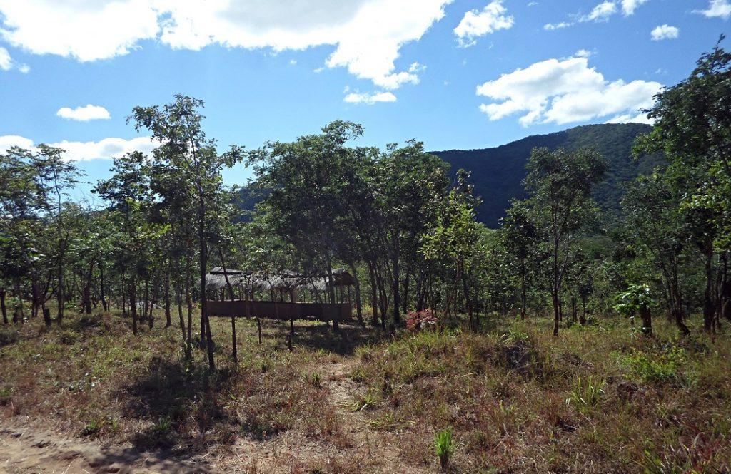 The Simple shelter used a Church built by the Juma Catholics
