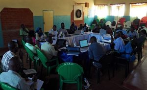 The Pastoral Commission Conducts a Review Meeting on Small Christian Communities
