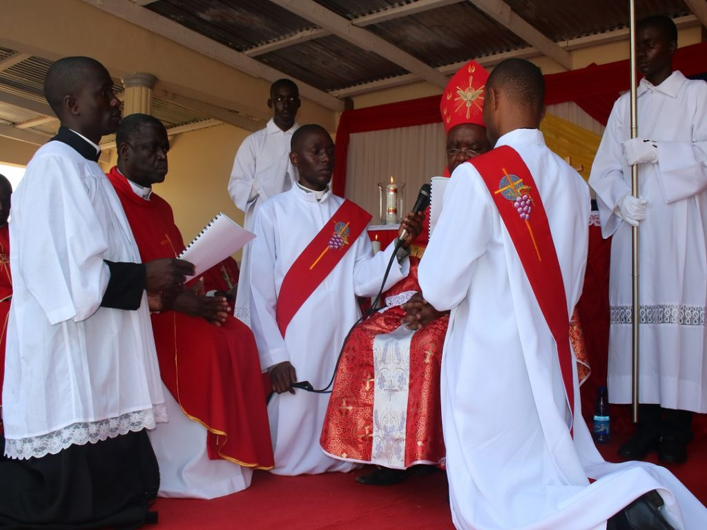 Father Joachim Mwale Renews His Commitment to Service